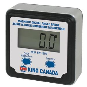 King, KW-180N Digital Angle Gauge 14813
