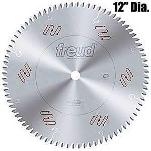 Freud LU3A0600 12-inch Commercial 96 Tooth Chip Free Melamine Saw Blade