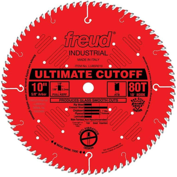 Freud LU85R012 12'' Cross Cutting Blade 96 Tooth 1'' Arbor 13893
