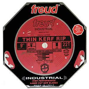 Freud 9'' Thin Kerf 22 Tooth Rip Blade LU87R009
