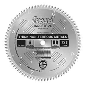 Freud, LU89M012 12'' x 86-Tooth Industrial HD Thick Nonferrous Metals Blade 1'' Arbor 13950