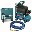 Makita 2 H.P Air Compressor and Brad Nailer Kit MAC700-Kit3
