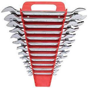 Gray Tools Metric Mirror Chrome 12-pc Wrench Set ME12A