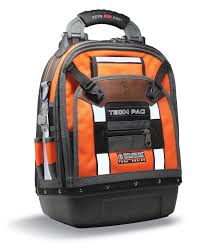 Veto Pro, TECH-PAC Orange Hi-VIZ, Backpack Tech Pac Tool Bag