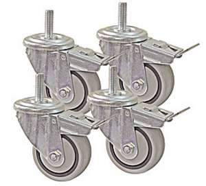 Kreg, PRS3090 3-inch Dual-Locking Caster Set 13657
