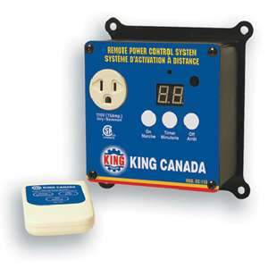 King, RC110 110V Remote Power Control System 15564