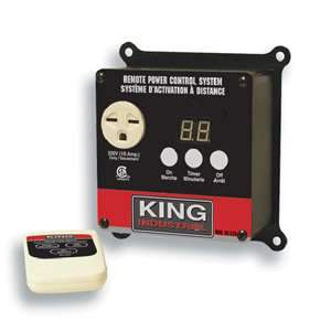 King, RC-220  220V Remote Power Control System 15563