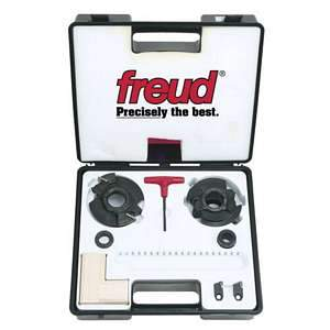 *Freud RS1000 Insert Knife Rail And Stile Shaper Cutter Heads 1-1/4 Bore for Shaper