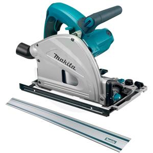 Makita SP6000x1 6-1/2'' Plunge Cut Circular Saw and 55 inch Rail