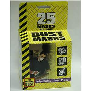 Dust Masks 25 pack