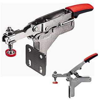 Bessey 0-13/16 in. Auto-Adjust Toggle Clamp 90º Verticle Base Plate STC-HA20