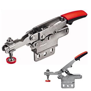 Bessey 0-13/16 in. Auto-Adjust Toggle Clamp Verticle Base Plate STC-HV20