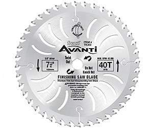 Freud TK304 10'' Dia 40 Tooth Thin Kerf Finishing Blade