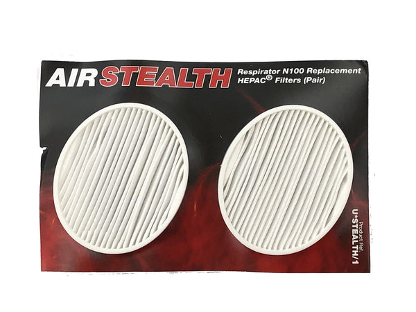 U*STEALTH/1 Filter for AIR STEALTH N100  1 Pair