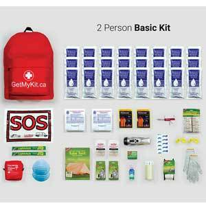 *Basic Emergency Kit – 2 Person