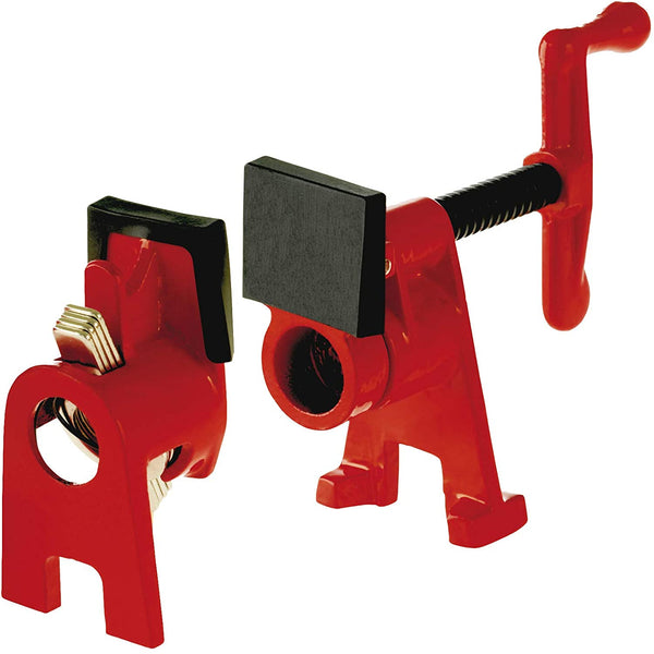 Bessey BPC-H34 Pipe Clamp  3/4-inch H Series with Feet
