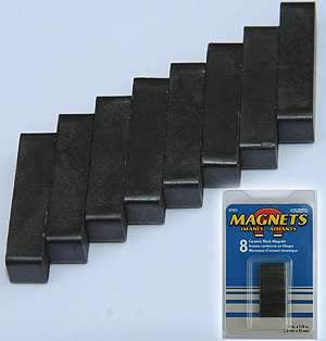 Ceramic Block Magnets, 07001