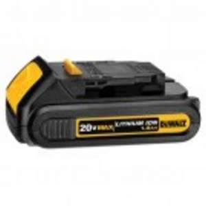 DeWalt DCB201 20V MAX Lithium Ion Compact Battery Pack 1.5 Ah