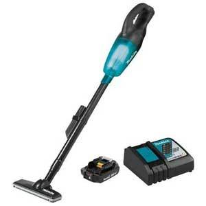 Makita DCL180RFB 18V LXT Vacuum Cleaner 3.0Ah  Kit Black/Clear Teal
