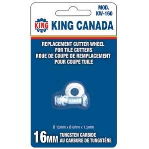 King, KW-160 Replacement Cutting Wheel 16756