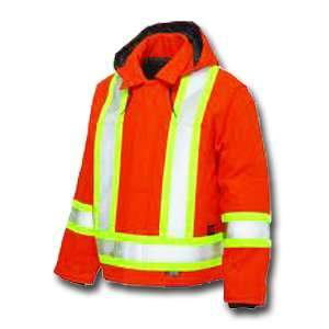 High Visibility Cotton Duck Safety Jacket S457 by Tough Duck