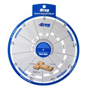Kreg, SSW Screw Selector Wheel