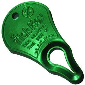 Tick Key Removal Device, for Pets and Humans