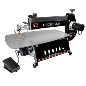 Excelsior XL-21/100 Scroll Saw Professional 21'' with Foot Switch