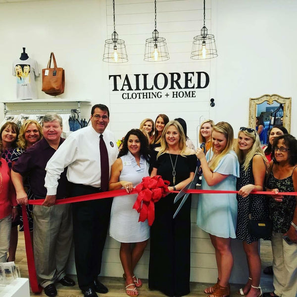 Tailored Clothing + Home:  We have a sister [store] & the grand opening was a success!