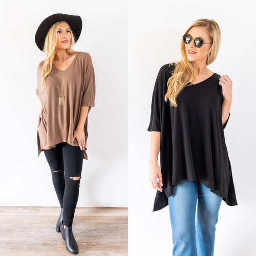 Best Believe It Tunic Top