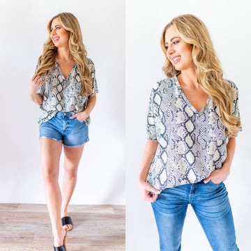 Queen of Snakes Blouse