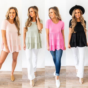 Never Forget You Tunic Top *Final Sale*