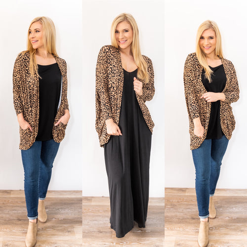 The Wild One Cocoon Cardigan