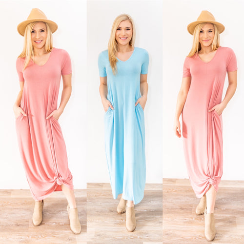 Spring has Sprung Maxi Dress