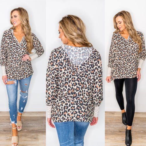 Wild for You Tunic Top