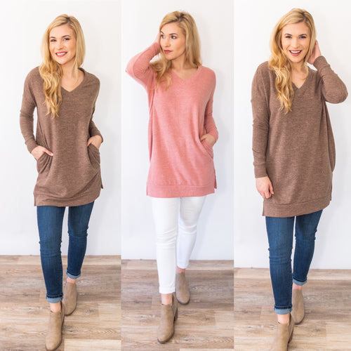 Tied Together Tunic