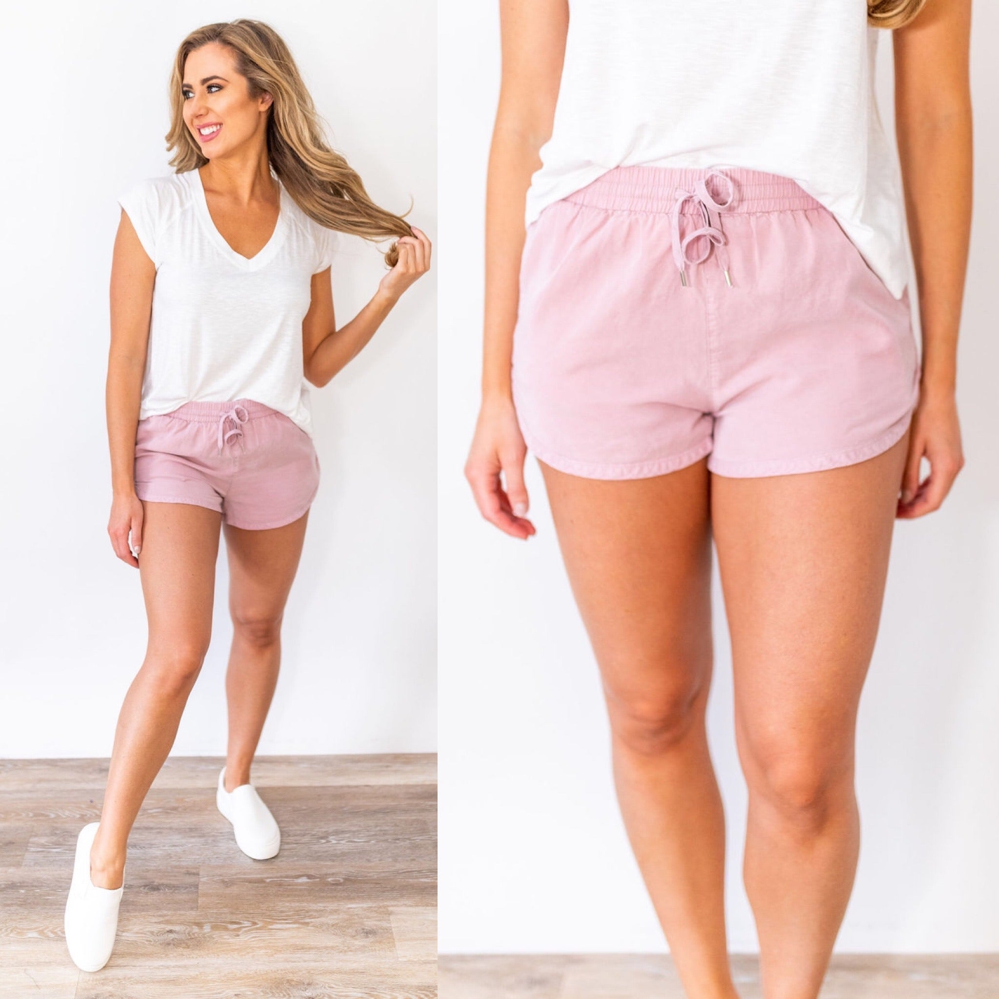 Summer Heat Drawstring Shorts