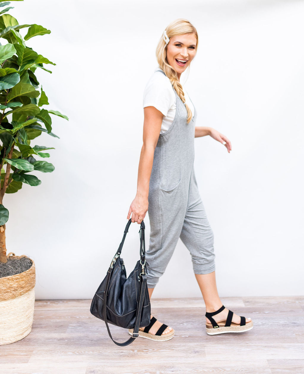 Running Around Town Jumpsuit with Pockets