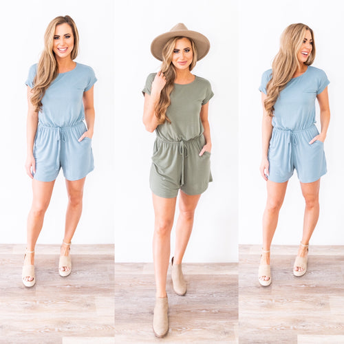 Warmer Days Ahead Romper