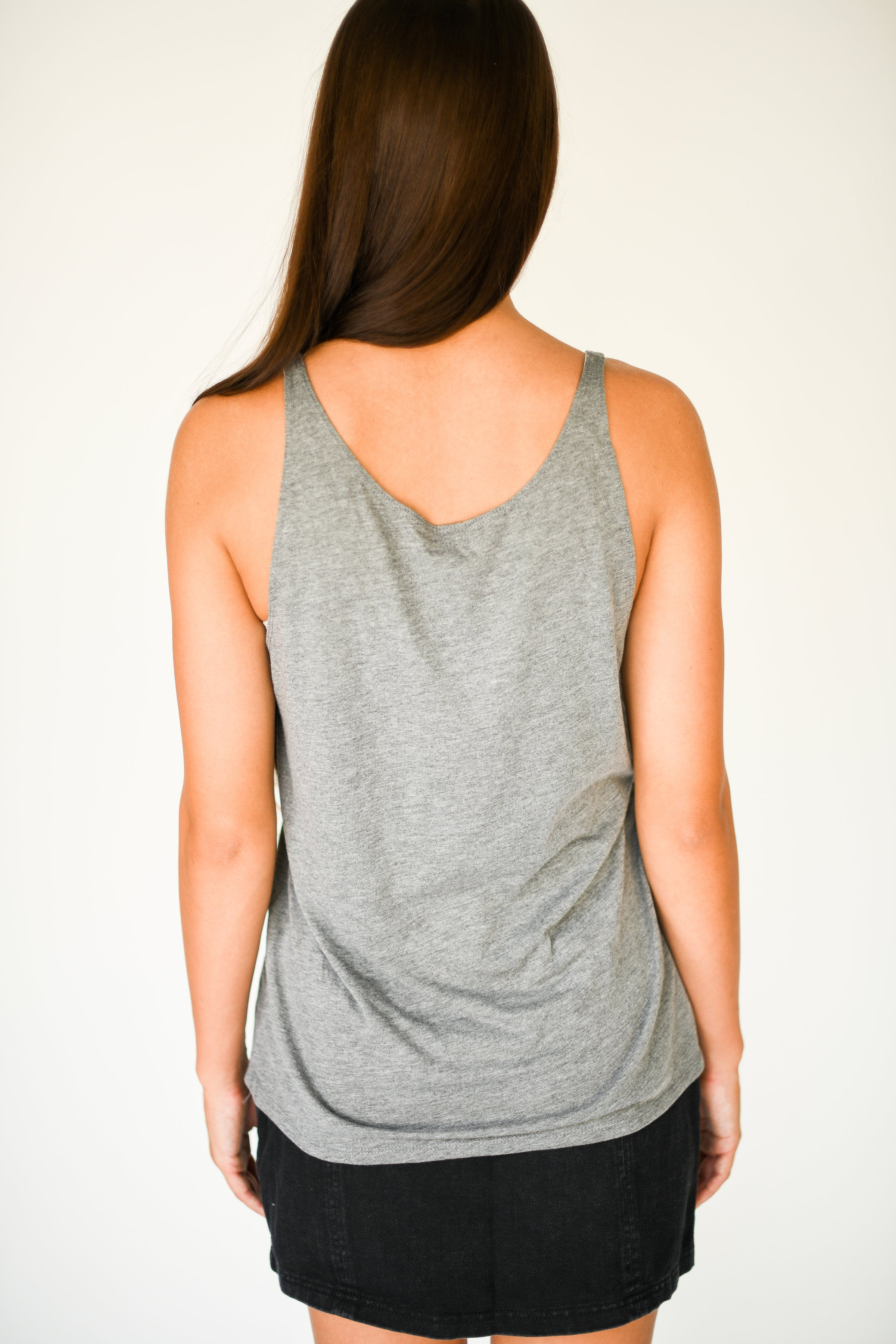 Charlie Southern SEC Logo Tank Top:  Light Grey