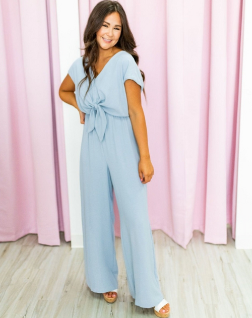 Knotted with Love Jumpsuit