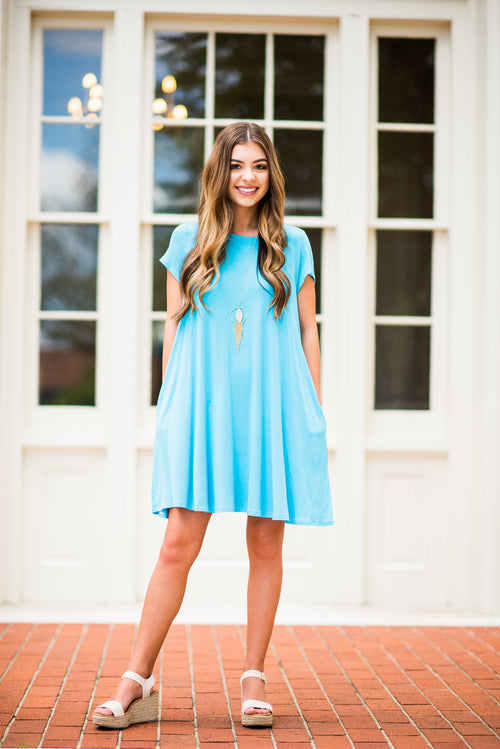 Simplicity is Key T-Shirt Dress