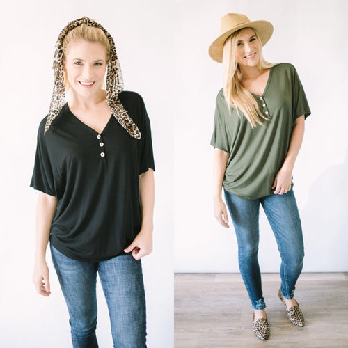 Around Town Tunic Top
