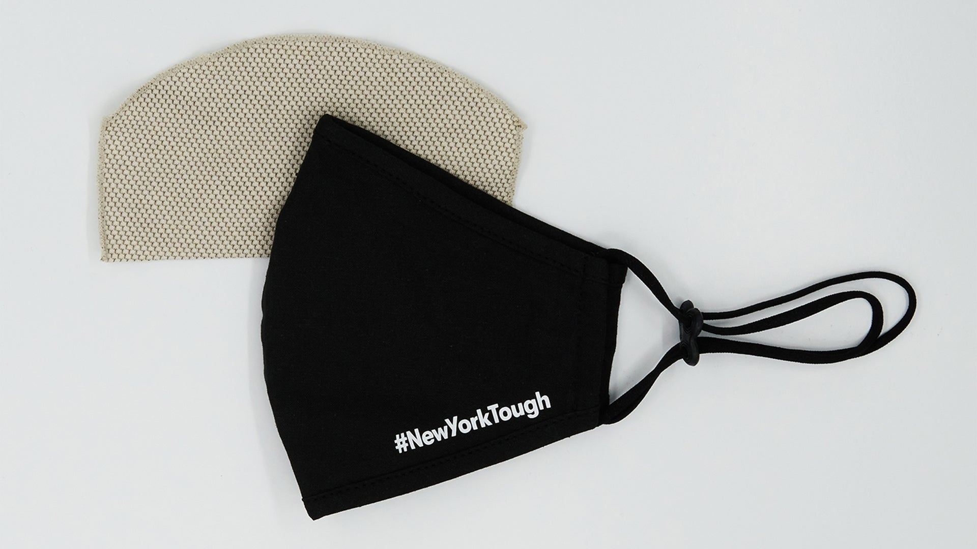 #NewYorkTough Black Solid Mask (Buy 1 Donate 1) - Mamask