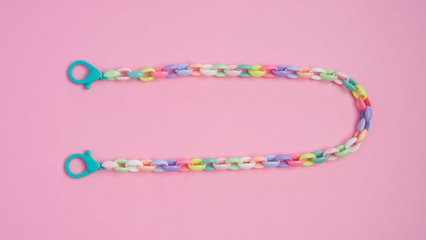 Rainbow Chain Mask Necklace - Mamask