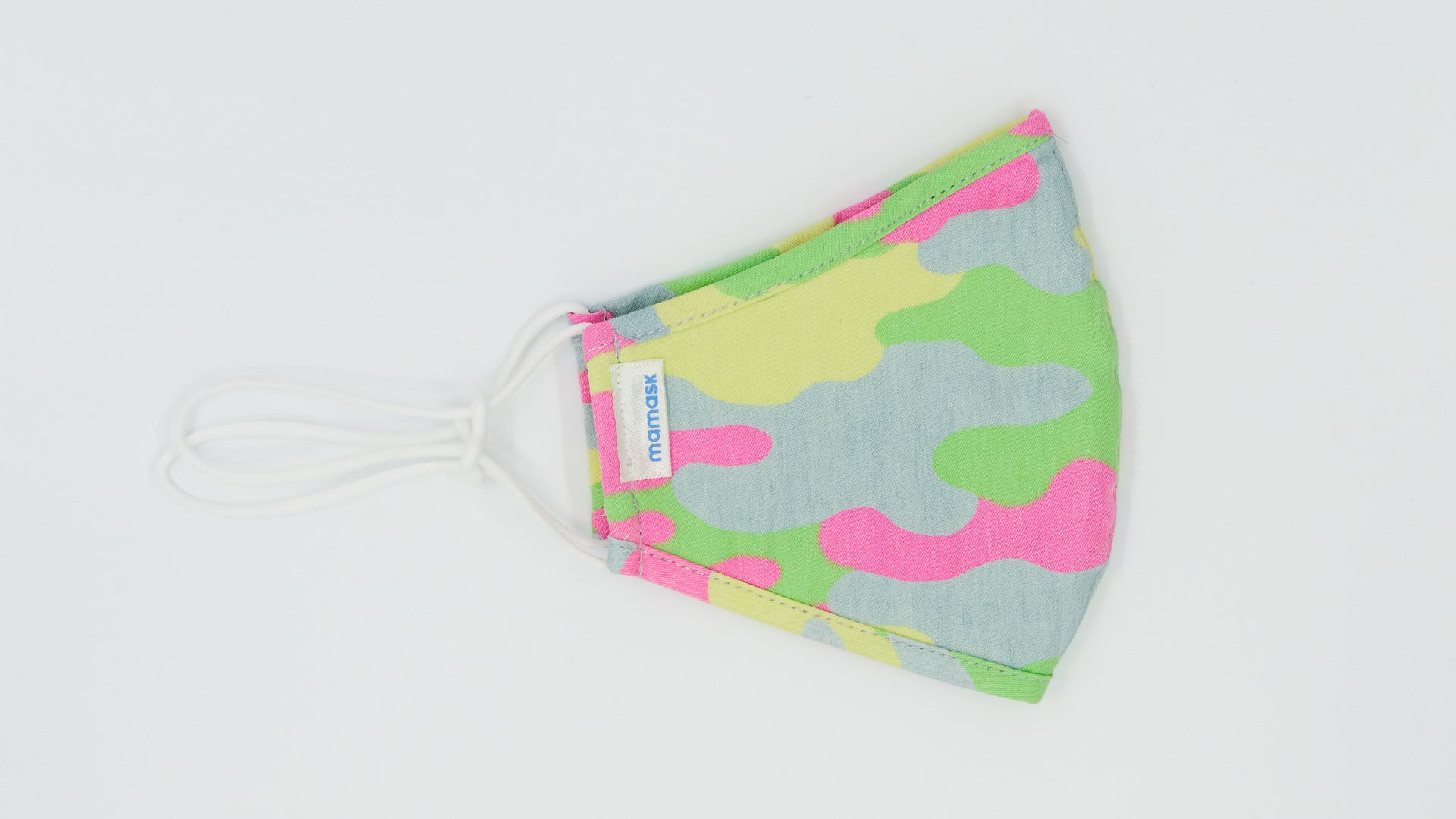 LW Green Pink Camouflage - Mamask