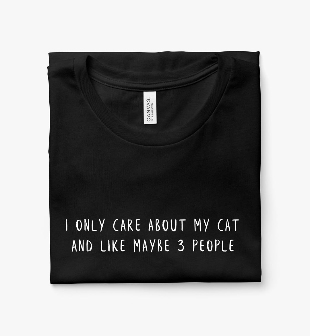 I Only Care About My Cat and Like Maybe 3 People