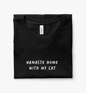 Namaste Home With My Cat