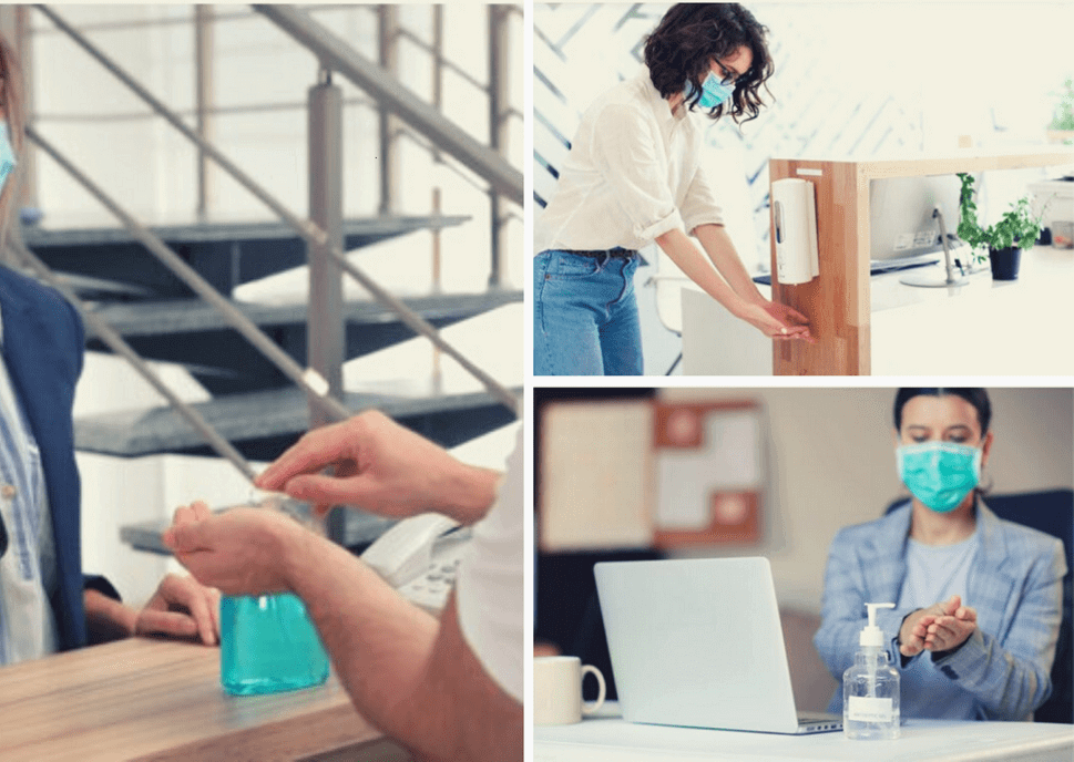 5 Places in Your Office to Install Refillable Hand Sanitizer Dispenser