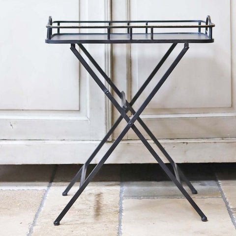 Deco Metal Fold Up Table